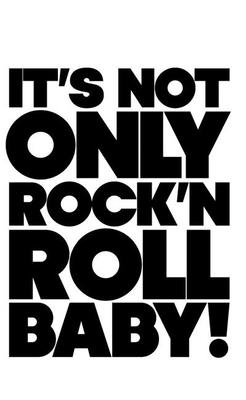 It's Not Only Rock 'n' Roll Baby! - Sans, Jerome (Editor)