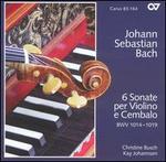 J.S. Bach: 6 Sonate per Violino e Cembalo, BWV 1014-1019
