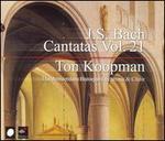 J.S. Bach: Cantatas, Vol. 21