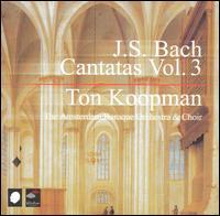 J.S. Bach: Cantatas, Vol. 3 - Amsterdam Baroque Soloists; Andreas Scholl (alto); Barbara Schlick (soprano); Caroline Stam (soprano);...
