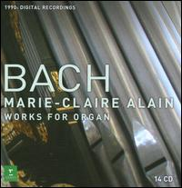 J.S. Bach: Complete Works for Organ [Digital Recording] - Marie-Claire Alain (organ)