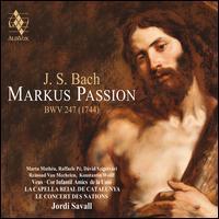 J.S. Bach: Markus Passion BWV 247 (1744) - Aina Albajar Sigalés (contralto); Dávid Szigetvári (tenor); Javier Jiménez Cuevas (bass); Julián Millán (bass);...