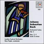 J. S. Bach: Orchestra Suites No.3 and No.4/Suite in G minor