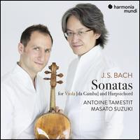 J.S. Bach: Sonatas for Viola (da Gamba) and Harpsichord - Antoine Tamestit (viola da gamba); Masato Suzuki (harpsichord)