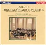 J.S. Bach: Three Keyboard Concertos