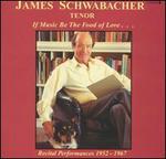 James Schwabacher: Tenor