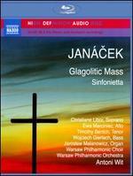 Janácek: Glagolitic Mass; Sinfonietta [Blu-Ray Audio] - Christine Libor (soprano); Ewa Marciniec (alto); Jaroslaw Malanowicz (organ); Timothy Bentch (tenor); Wojciech Adalbert Gierlach (bass); Warsaw Philharmonic Chorus (choir, chorus); Warsaw Philharmonic Orchestra; Antoni Wit (conductor)