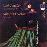 Janacék: String Quartets Nos. 1 & 2; Dvorák: Cypresses