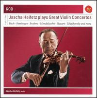 Jascha Heifetz Plays Great Violin Concertos -