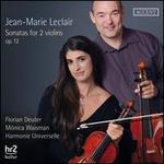Jean-Marie Leclair: Sonatas for 2 Violins Op. 12