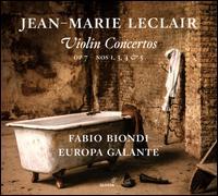 Jean-Marie Leclair: Violin Concertos, Op. 7 Nos. 1, 3, 4 & 5 - Fabio Biondi (candenza); Fabio Biondi (violin); Europa Galante; Fabio Biondi (conductor)