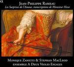 Jean-Philippe Rameau: Les Surprises de l'Amour (Transcriptions de Monsieur Hesse)
