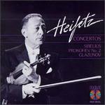 Jean Sibelius, Sergey Prokoviev, Alexander Glazunov: Concertos