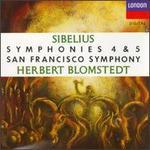 Jean Sibelius: Symphonies Nos. 4 + 5