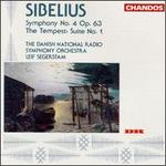 Jean Sibelius: Symphony No. 4/The Tempest