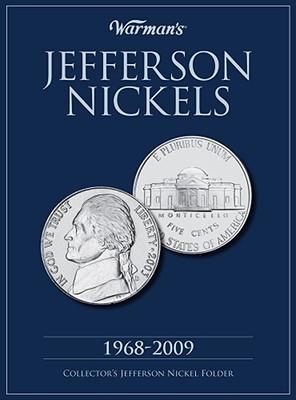 Jefferson Nickel 1968-2009 Collector's Folder - Warman's