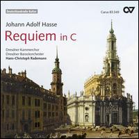 Johann Adolf Hasse: Requiem in C - Colin Balzer (tenor); Cornelius Uhle (bass); Johanna Winkel (soprano); Marie Luise Werneburg (soprano); Marlen Herzog (alto);...