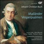 Johann Christian Bach: Mail?nder Vesperpsalmen