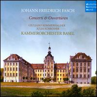 Johann Friedrich Fasch: Concerti & Overtüren - Giuliano Sommerhalder (trumpet); Julia Schröder (violin); Kammerorchester Basel; Julia Schröder (conductor)