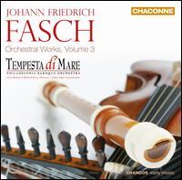Johann Friedrich Fasch: Orchestral Works, Vol. 3 - Gwyn Roberts (recorder); Richard Stone (lute); Tempesta di Mare