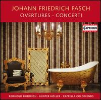 Johann Friedrich Fasch: Overtures & Concerti - Aladár Tüske (bassoon); Alain de Rudder (trumpet); Budapest Strings; Cappella Coloniensis; Helmut Hucke (oboe);...