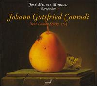 Johann Gottfried Conradi: Neue Lauten Stücke, 1724 - José Miguel Moreno (baroque lute)