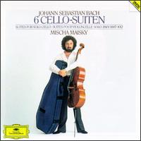 Johann Sebastian Bach: 6 Cello-Suiten, BWV 1007-1012 - Mischa Maisky (cello)