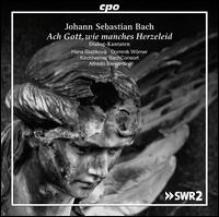 Johann Sebastian Bach: Ach Gott, wie manches Herzeleid - Dialog-Kantaten - Alfredo Bernardini (oboe); Alfredo Bernardini (oboe d'amore); Beat Duddeck (alto); Dominik Wörner (bass);...