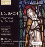 Johann Sebastian Bach: Cantatas 34, 50, 147