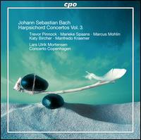 Johann Sebastian Bach: Harpsichord Concertos, Vol. 3 - Katy Bircher (flute); Lars Ulrik Mortensen (harpsichord); Manfredo Kraemer (violin); Marcus Mohlin (harpsichord);...