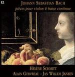Johann Sebastian Bach: Pi�ces pour violon & basse continue