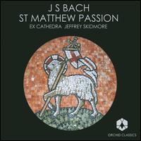 Johann Sebastian Bach: St Matthew Passion - Christopher Watson (tenor); Eamonn Dougan (bass); Grace Davidson (soprano); Greg Skidmore (bass); James Birchall (bass);...