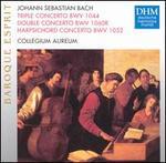 Johann Sebastian Bach: Triple Concerto BWV 1044; Double Concerto BWV 1060R; Harpsichord Concerto BWV 1052