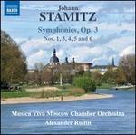 Johann Stamitz: Symphonies, Op. 3 Nos. 1, 3, 4, 5 and 6