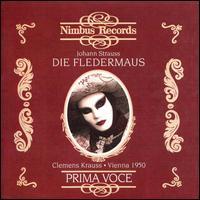 Johann Strauss II: Die Fledermaus - Alfred Poell (baritone); Anton Dermota (tenor); August Jaresch (tenor); Elisabeth Schwarzkopf (vocals); Erich Kunz (vocals);...