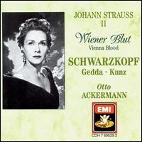 Johann Strauss II: Wiener Blut - Alois Pernerstorfer (vocals); Elisabeth Schwarzkopf (vocals); Emmy Loose (vocals); Erich Kunz (vocals); Erika Köth (vocals);...