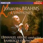 Johannes Brahms: 4 Symphonies