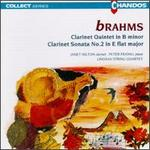 Johannes Brahms: Clarinet Quintet in B Minor Op.115; Sonata in E Flat Major for Clarinet and Piano,Op.120 No.2