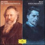 Johannes Brahms: Die Streichquartette; Hugo Wolf: Streichquartette