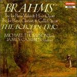 Johannes Brahms: Horn Trio Op.40/Clarinet Trio Op. 114
