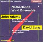 John Adams, David Lang; Works for Wind Ensemble