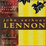 John Anthony Lennon: Chamber Works