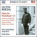 John Philip Sousa: Music for Wind Band, Vol. 13