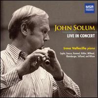 John Solum Live in Concert - Irma Vallecillo (piano); John Solum (flute)