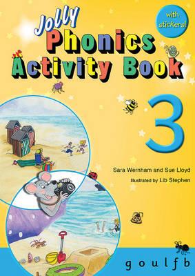 Jolly Phonics Activity Book 3: in Precursive Letters (British English edition) - Wernham, Sara, and Lloyd, Sue