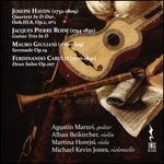 Joseph Haydn: Quartett; Jacques Pierre Rode: Guitar Trio; Mauro Giuliani: Sereande; Ferdinando Carul