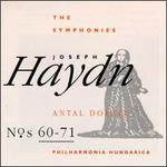 Joseph Haydn: Symphonies Nos. 60-71