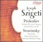 Joseph Szigeti Plays Prokofiev & Stravinsky