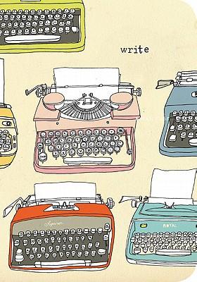 Julia Rothman Typewriter Eco-Journal - Rothman, Julia