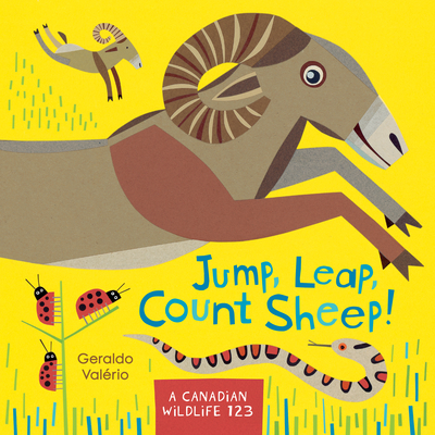 Jump, Leap, Count Sheep!: A Canadian Wildlife 123 - Valerio, Geraldo